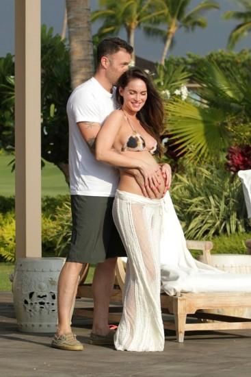 megan1 - Momentos de ternura entre Megan Fox y su marido