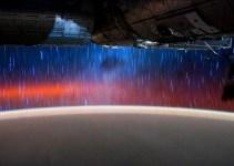 706d39ca08c79601e8763bcd4b9bc178 - La vista desde la Estación Espacial Internacional por la noche