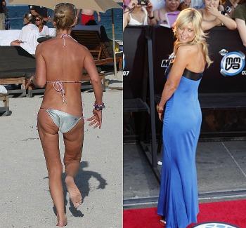 Photoshop7 - ¡Así lucen 10 famosas sin Photoshop y en bikini!