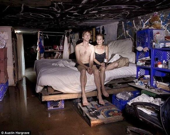 94c241200d6ca11b222be2340ae5dafa - Otra cara de Las Vegas: cientos de personas viven en túneles