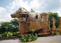 2bb840bb561a81dcd99a15cb36172d5f - #Video Curioso Hotel con forma de Toro de Troya