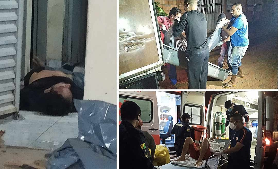 Sedentos por sangue, criminosos invadem casa, matam um e deixam outro gravemente ferido no Rosalinda