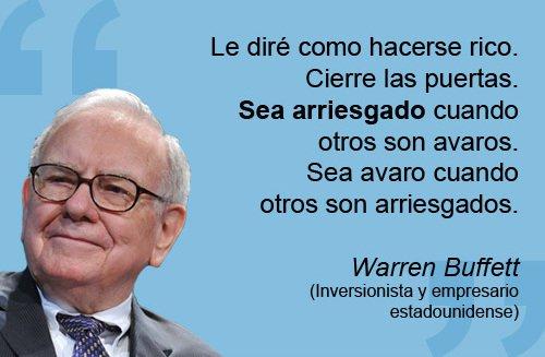 Warren Buffet, frase