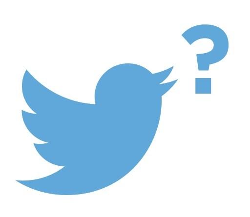 Twitter logo ?