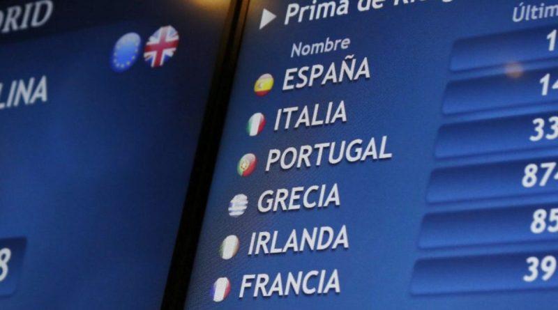La prima de riesgo española baja de 100 puntos básicos