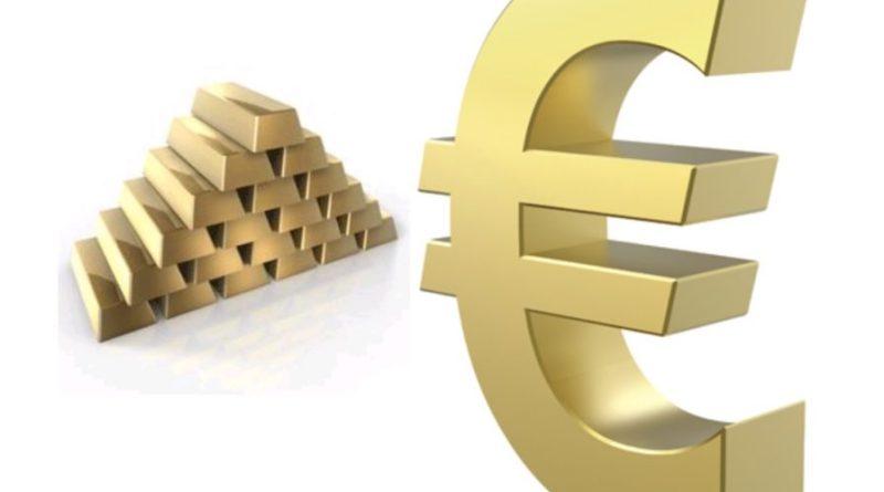 Lingotes Oro, Euro