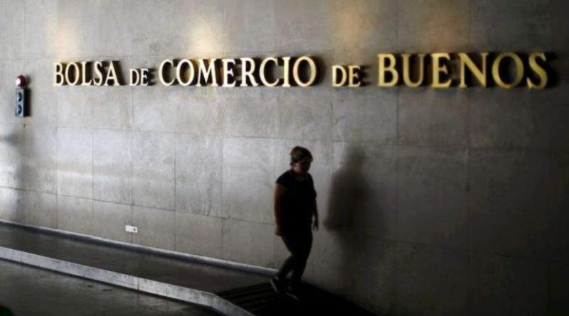 El Merval de la bolsa Argentina se desploma casi un 9%