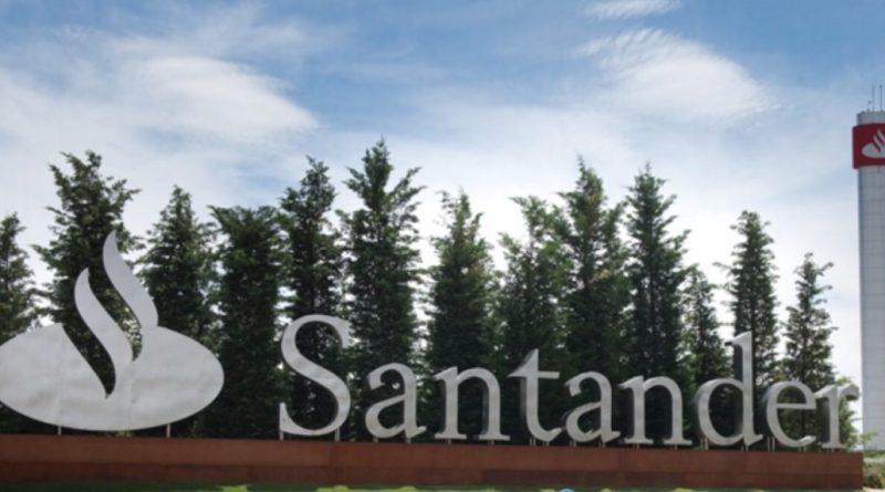 Banco Santander podría estar cerca de un rebote