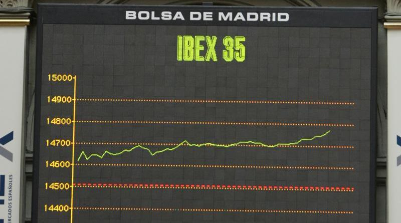 El Ibex 35 que cierra con una subida del 0,59%