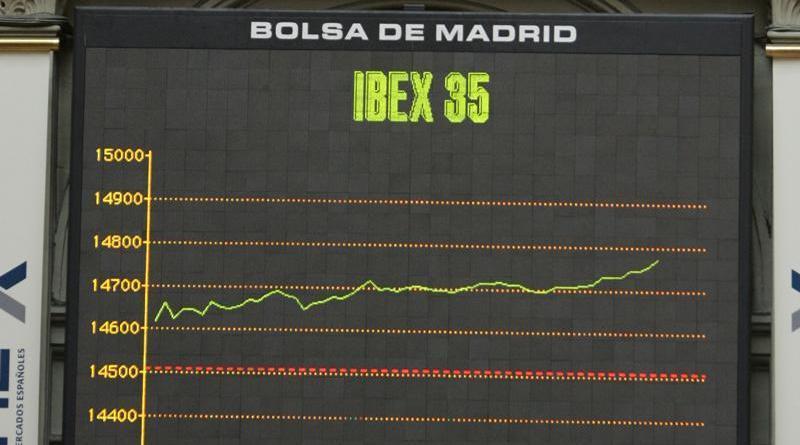 El Ibex 35 rebota después de cuatro sesiones de pérdidas