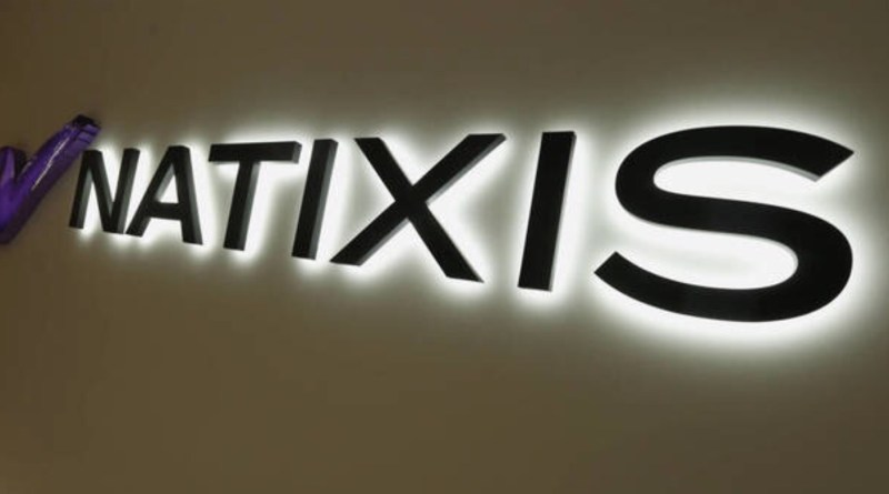 NATIXIS, logo luminoso
