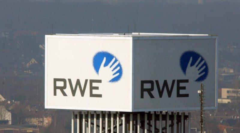 RWE, logo en torre