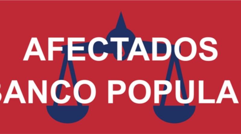 Afectados Popular, justicia