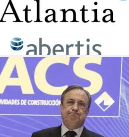 ACS cae en bolsa por su conexión con Atlantia