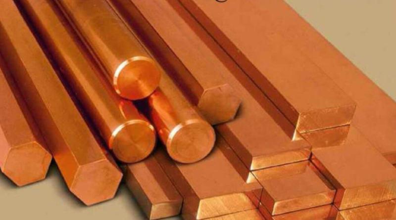 El precio del cobre cayó esta semana un 4,5%