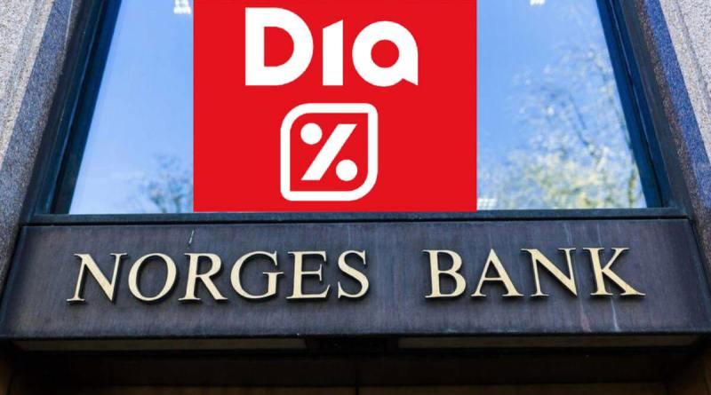 Norges Bank rebaja su participación en DIA hasta el 2,638%