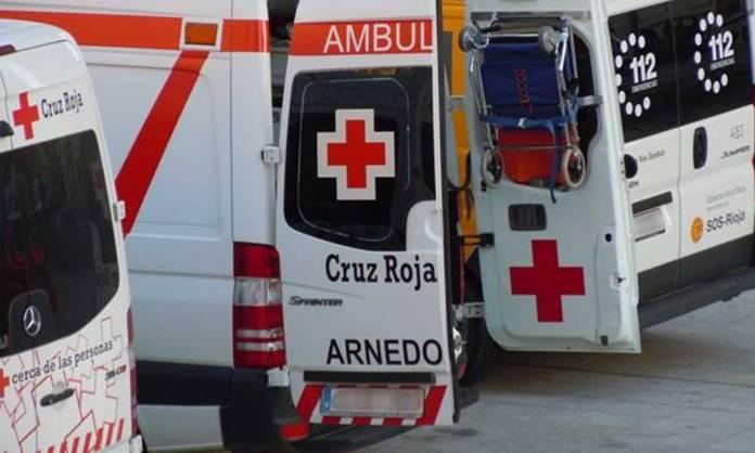 Imagen de archivo - Ambulancias de Cruz Roja en Arnedo