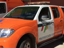 Vehículo del Equipo de Montaña de Protección Civil de Arnedo