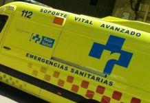 Ambulancia de los Recursos de Emergencias del Servicio Riojano de Salud