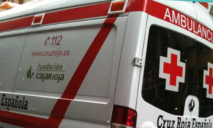 Ambulancia de Cruz Roja en Arnedo