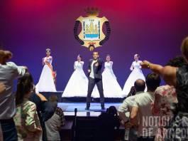 Óscar Martínez de Quel puso a todo el auditorio del Teatro Cervantes de pie al comienzo de su intervención