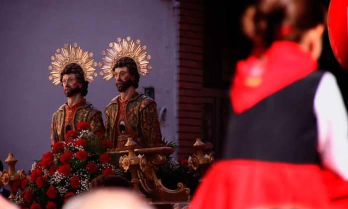 Imagen de los Santos San Cosme y San Damián