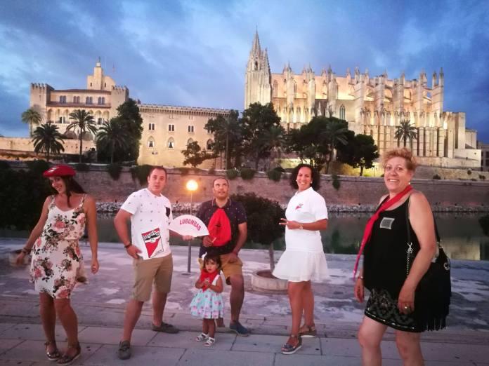 III Concurso de Fotografía Peña Lubumbas - María Gil de Gómez y su familia en Mallorca