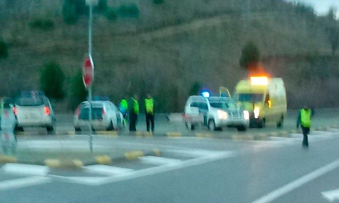 Accidente de Tráfico en la LR-123 y LR-134