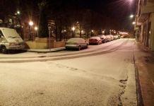 Nieve en Arnedo el 28/02/2018