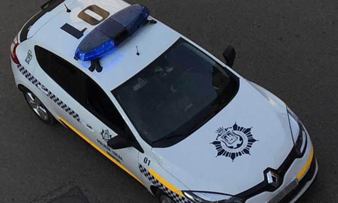 Vehículo de la Policía Local de Arnedo