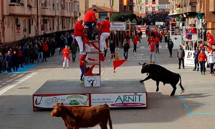 El encierro del viernes 16 de marzo en Arnedo