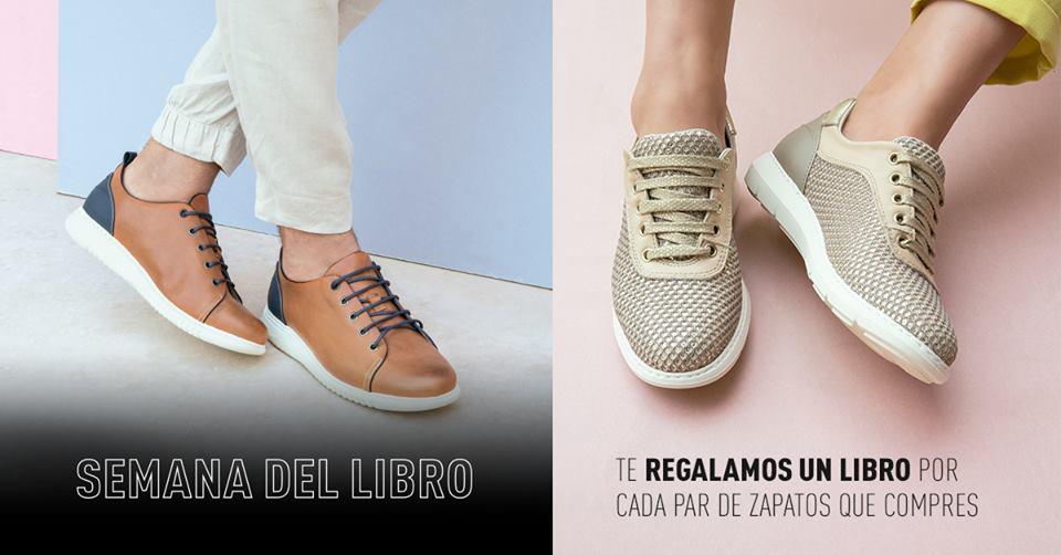 44249a352a9 Promoción de On Foot de su campaña de regalo de libros con la compra de  zapatos