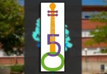 Logo elegido para los actos del 50 Aniversario del IES Celso Díaz