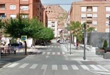 Confluencia de las calles Aragón y Huertas de Arnedo