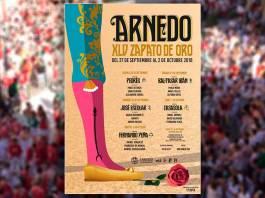 Presentado el cartel de la Feria Taurina del Zapato de Oro de Arnedo 2018