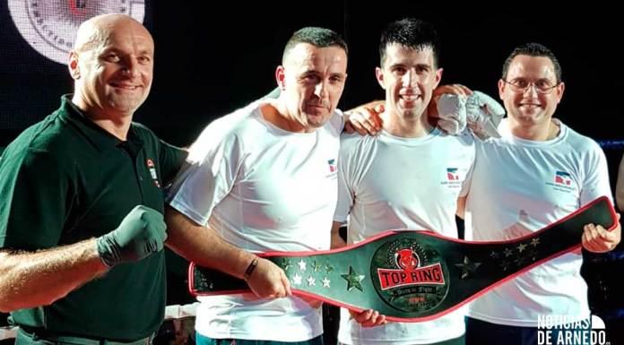Gonzalo Martinez-Losa, Cinturón TopRing de K1 Profesional