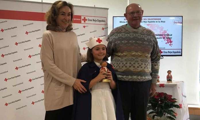 Jesús Fernández-Velilla recibe el reconocimiento de Cruz Roja en La Rioja