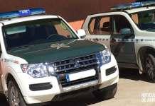 Vehículos de la Guardia Civil en La Rioja en Arnedo