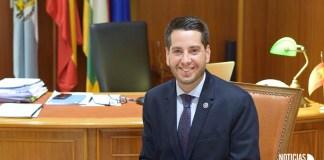 Javier García Ibañez, alcalde de Arnedo