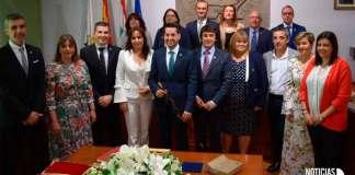 Nueva corporación municipal del Ayuntamiento de Arnedo (Junio de 2019)
