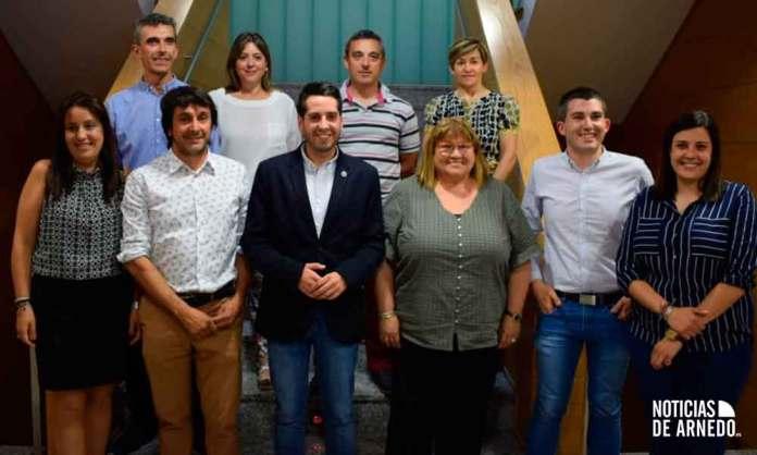 Concejales del Equipo de Gobierno del Ayuntamiento de Arnedo