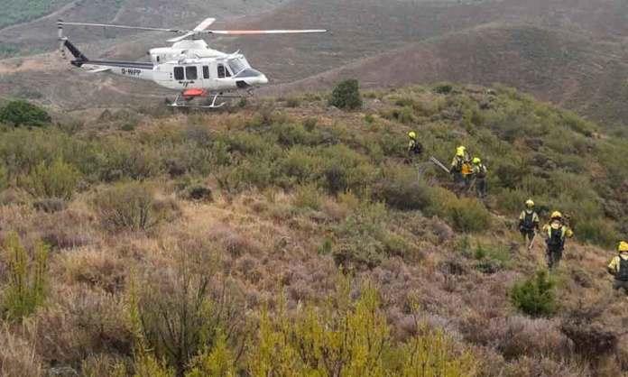 Imagen: CARIF La Rioja | Medios aéreos del dispositivo contra incendios forestales de La Rioja