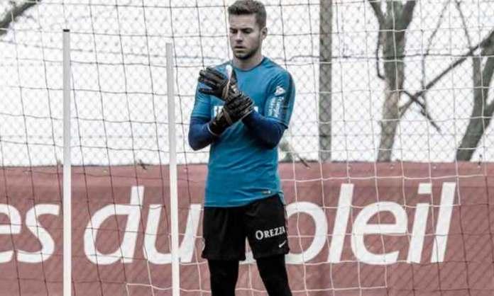 El deportista arnedano, Alvaro Fernández
