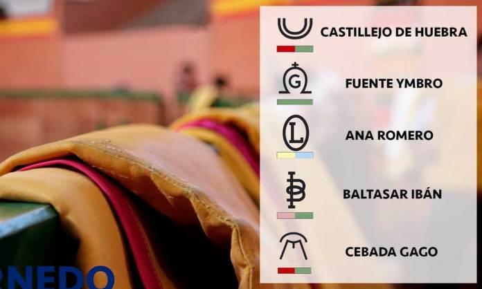 Ganaderías seleccionadas para el Zapato de Oro 2020 de Arnedo
