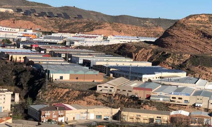 Una de las zonas industriales de Arnedo (La Rioja)
