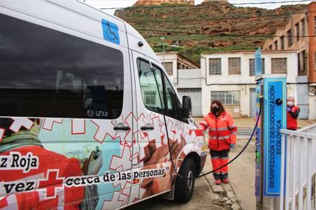 Los vehículos de emergencia podrán desinfectar gratuitamente sus vehículos en Pelute Sport
