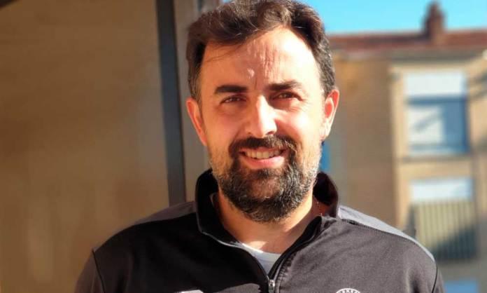 Víctor Santo Íñigo. presidente de la Escuela de Fútbol de Arnedo