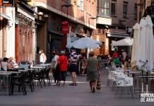 Calle de los Bares de Arnedo en un día laborable (Septiembre 2020)
