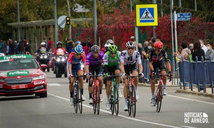 La Vuelta Ciclista a España a su paso por Arnedo
