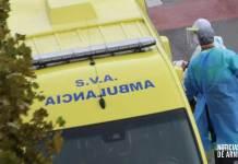Ambulancia de Soporte Vital Avanzado con el protocolo COVID